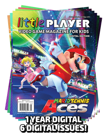 Little Player Magazine 1 Year DIGITAL Subscription (6 Issues)