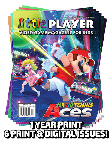 Little Player Magazine 1 Year PRINT Subscription (6 Issues)