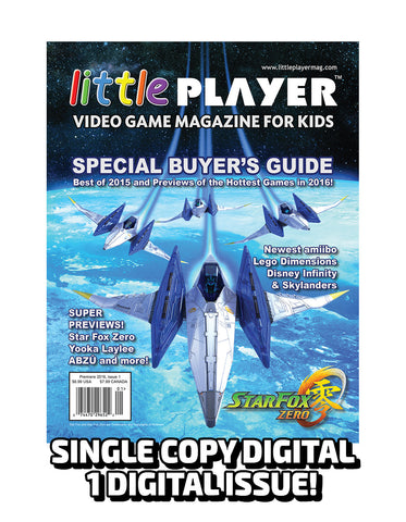 Little Player Magazine Issue 1 - Digital Edition