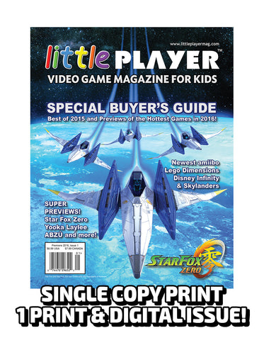 Little Player Magazine Issue 1 - Print Edition