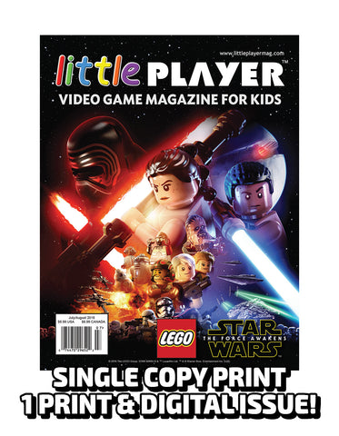 Little Player Magazine Issue 2 - Print Edition