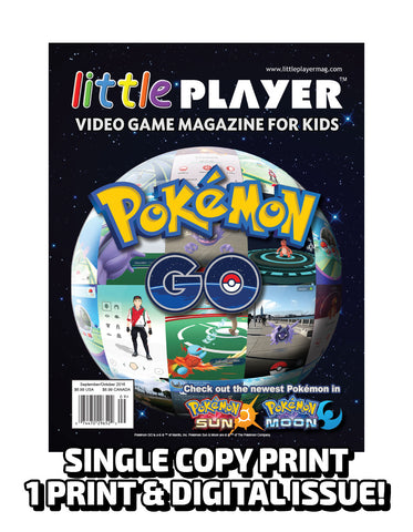 Little Player Magazine Issue 3 - Print Edition