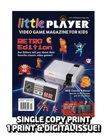 Little Player Magazine Issue 4 - Print Edition