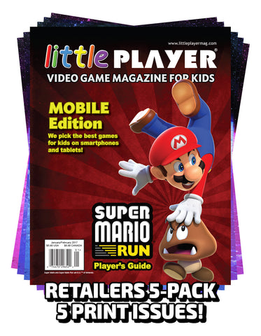 Little Player Magazine Issue 5 Print - RETAILERS 5-Pack