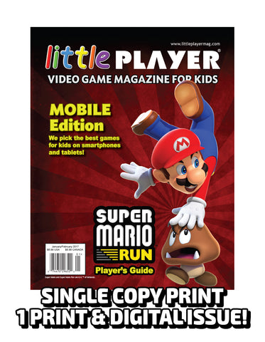 Little Player Magazine Issue 5 - Print Edition