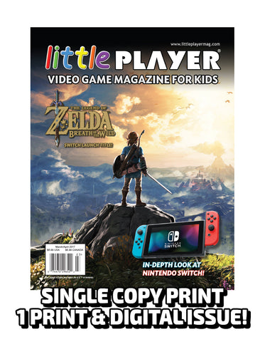 Little Player Magazine Issue 6 - Print Edition