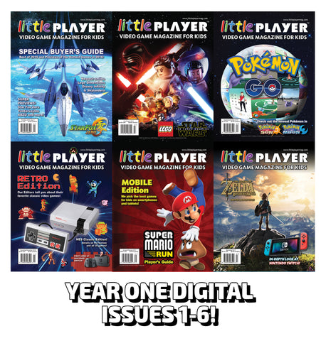 Summer Reading Special! – FREE Year One Digital Editions (Issues 1-6)