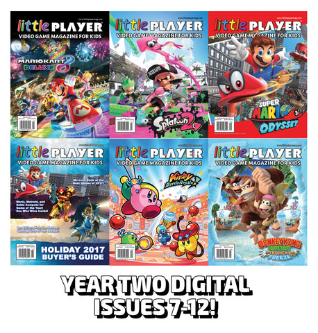Summer Reading Special! – FREE Year Two Digital Editions (Issues 7-12)