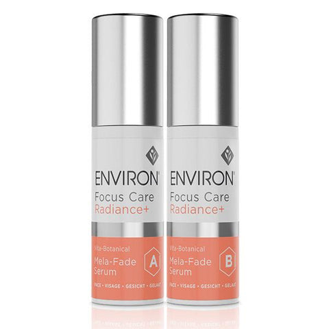 Environ Focus Care Radiance+ Mela-Fade Serum System