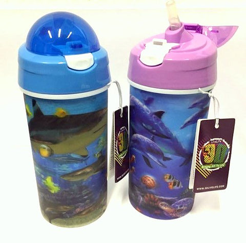 Reusable 3D Livelife Drinking Beakers