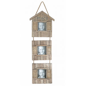 Rustic Hanging Wooden Photo Frame