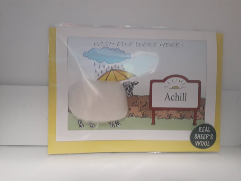 Wish Ewe Were Here Achill Cards