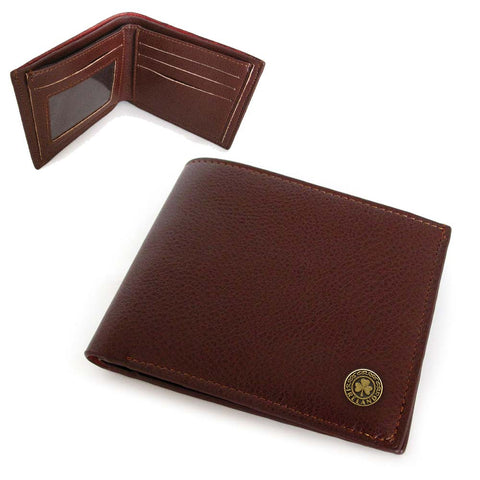 Man of Aran Leather Wallet Brown