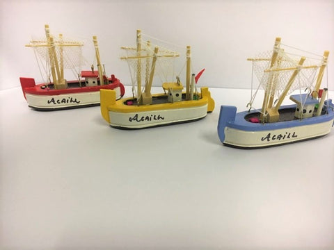 Achill Wooden Trawlers