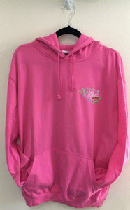 Adult Hoody Baby Pink