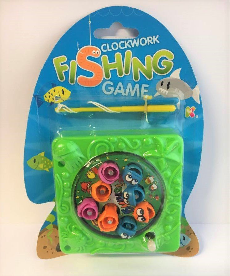 Clockwork Fishing Game