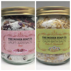 The Moher Soap Co. Bath Salts Jars