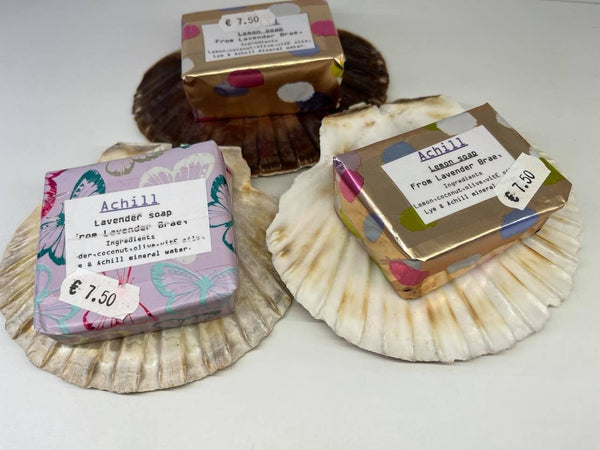 Handmade Soap on a Shell by Monica