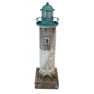 Rustic LED Lighthouse