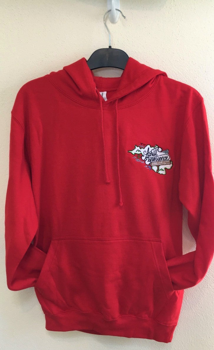 Adult Hoody Red