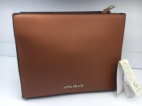 Anna Grace Handbag Tan/Brown