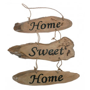 Coffee Wood Home Sweet Home Sign