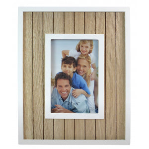 Beach Hut Photo Frame 4x6""
