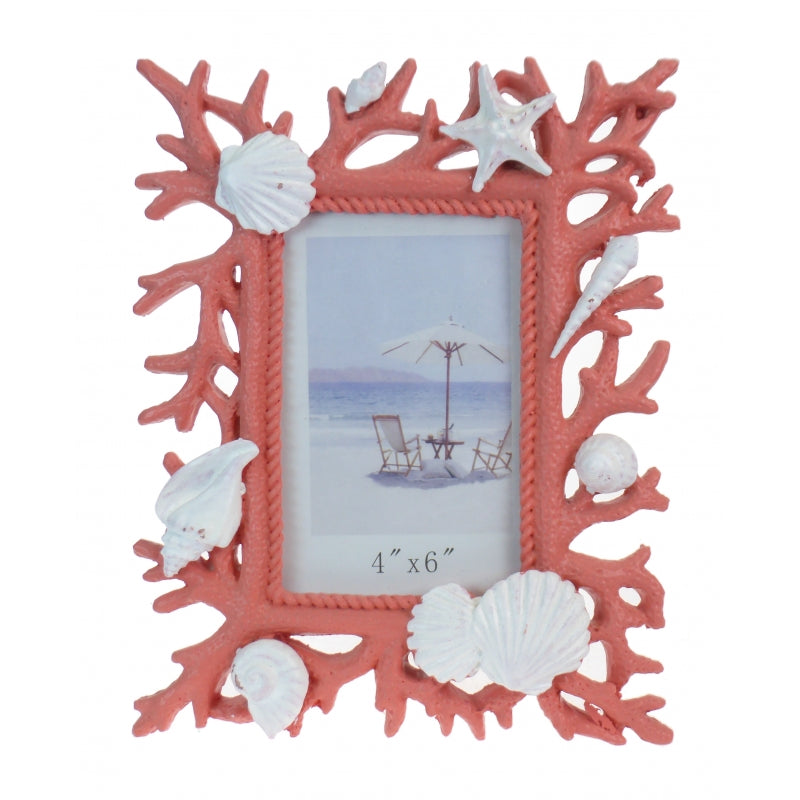 Resin Coral Photo Frame