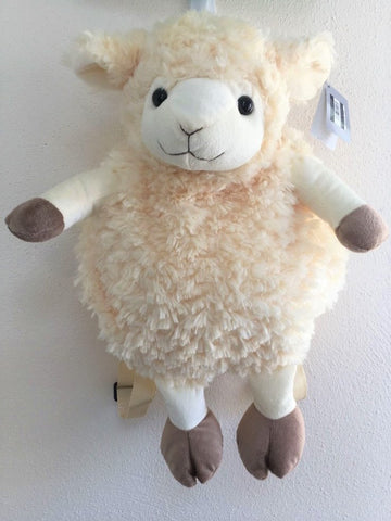 Soft Toy Sheep Backpack