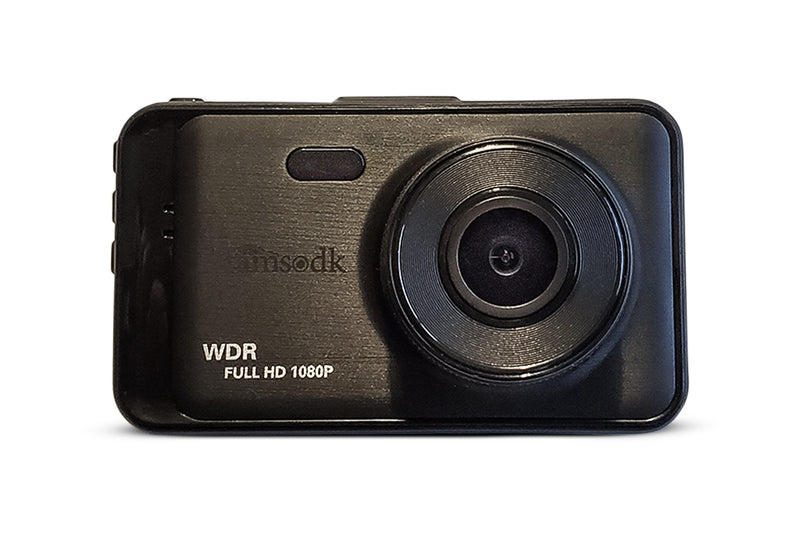 DCAMS X1_V6 - Full HD Dashcam med WDR og Ultrawide linse