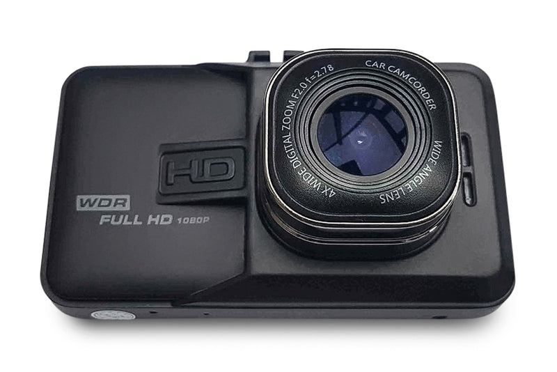 DCAMS X8_V3 - FULL HD Dashcam med Ultrawide linse & WDR