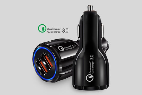 12V USB adapter med QC 3.0