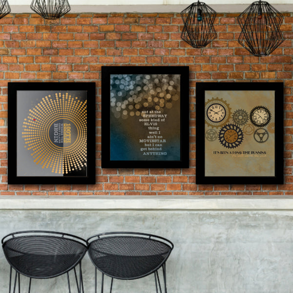 Blow on High Dough by the Tragically Hip - Song lyric Inspired Art - Classic Rock Music Wall Print