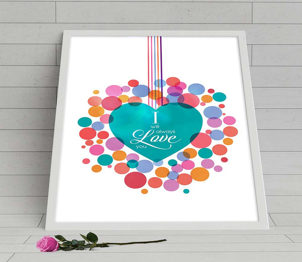 love song the cure music lyric print