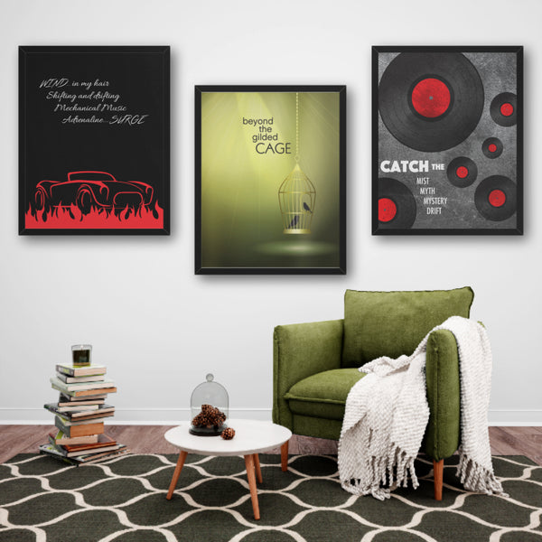 Limelight by Rush - Song Lyrics Art Decor Wall Print