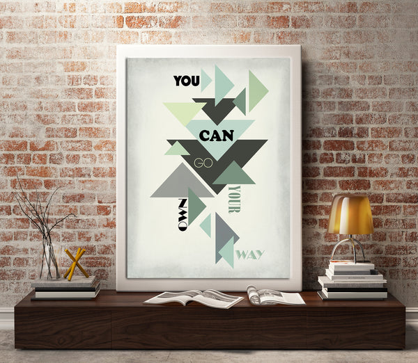 Go your Own Way by Fleetwood Mac Song Lyrics Music Poster Artwork Gift for Music Enthusiasts