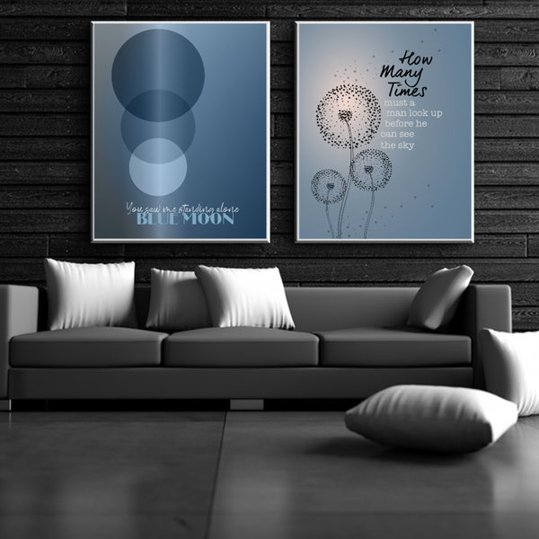 ARTWORK IS MADE TO ORDER  This customized piece is available in a number of sizes and formats to suit your unique needs. Canvas Wraps and Laminated Plaque Mounts have a production lead time of up to 2 weeks. See the FAQs for descriptions of sizes and formats available.  More Beatles listings from Song Lyrics Art.