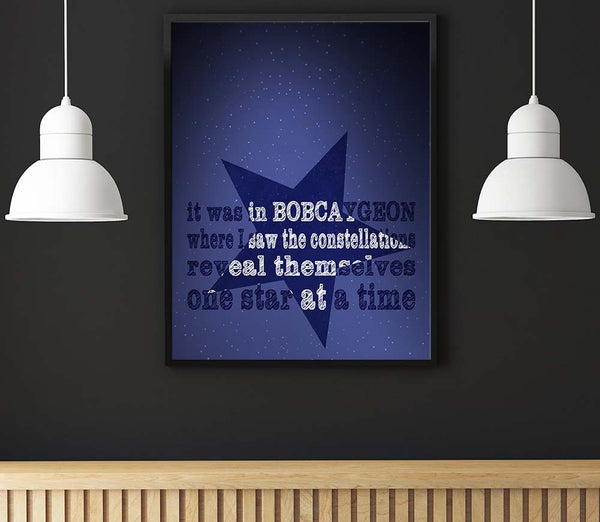 bobcaygeon the tragically hip song lyrics art poster wall artwork decor