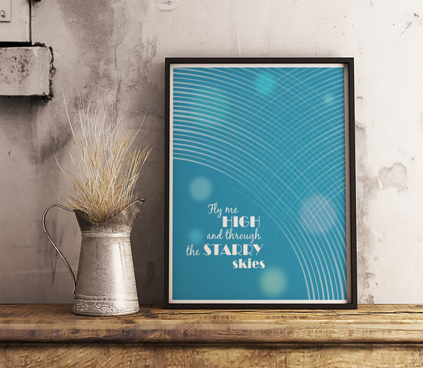 Dream Weaver by Gary Wright Song Lyrics Art Music Poster Wall Decor