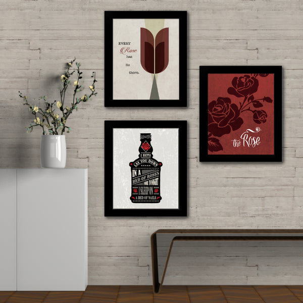The Rose by Bette Midler - Song Lyric Inspired Wall Art Print Poster