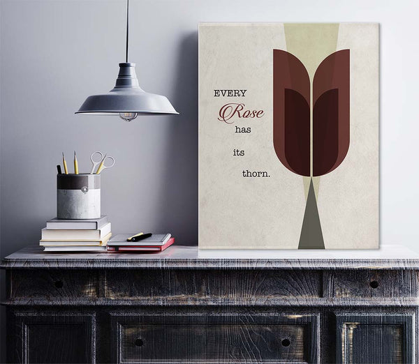 Every Rose has it's Thorn Poison Music Lyrics Poster