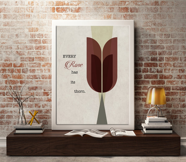 Every Rose Has its Thorn by Poison Song Lyrics Art Music Enthusiast Gift