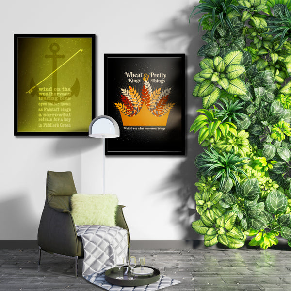wheat kings by the tragically hip music lyric poster art