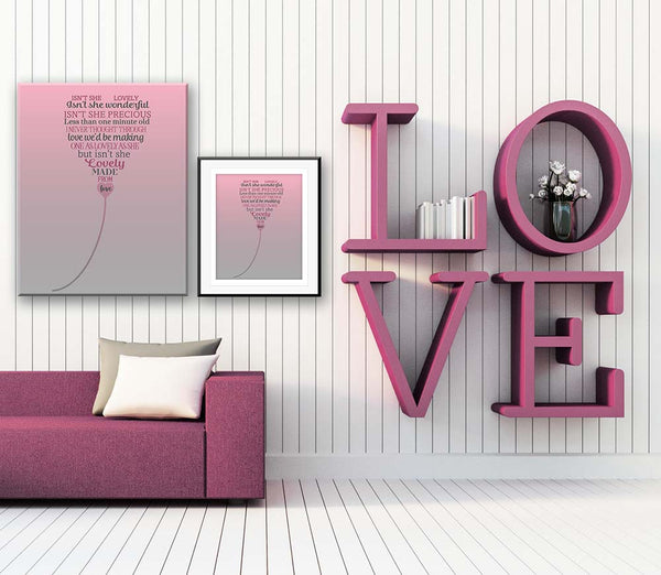 isn't she lovely stevie wonder music lyrics poster art