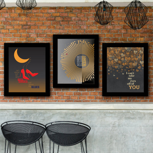 Let's Dance by David Bowie Song Lyric Music Poster Illustration Lyrically Inspired Artwork