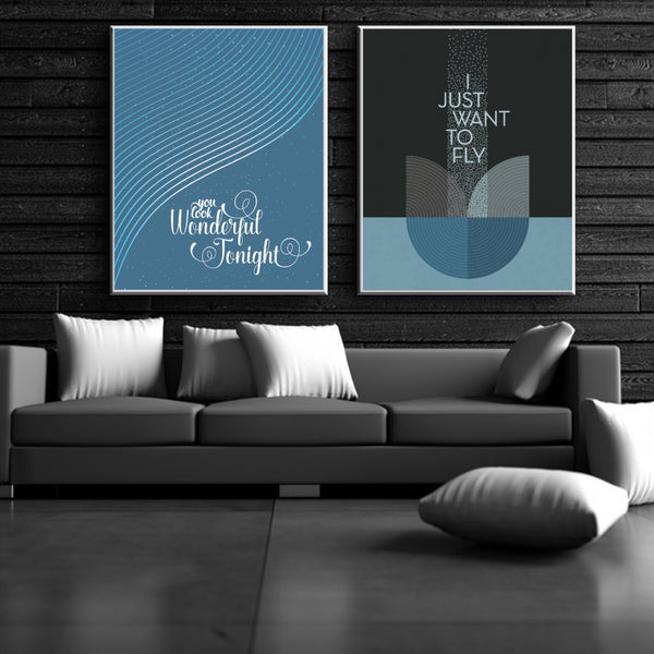 Live Forever by Oasis Song Lyric Wall Print Poster