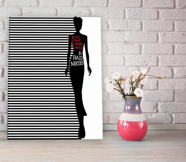 Long Cool Woman in a Black Dress by the Hollies Song Lyrics Art Music Poster Wall Decor