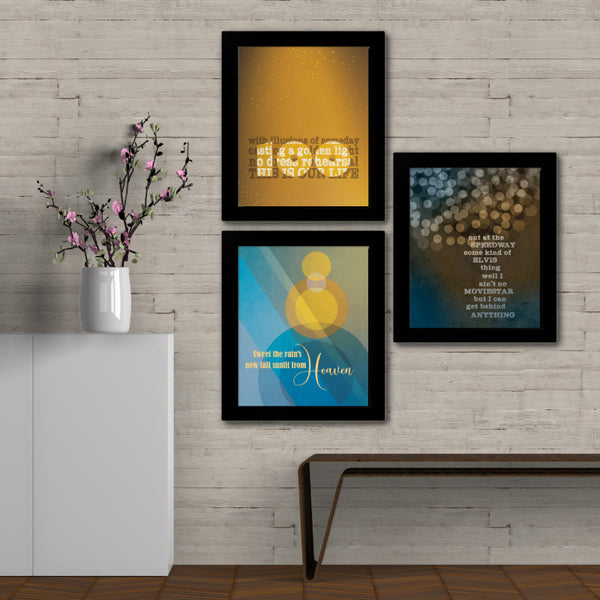 Ahead by a Century by the Tragically Hip Song Lyric Poster Illustration