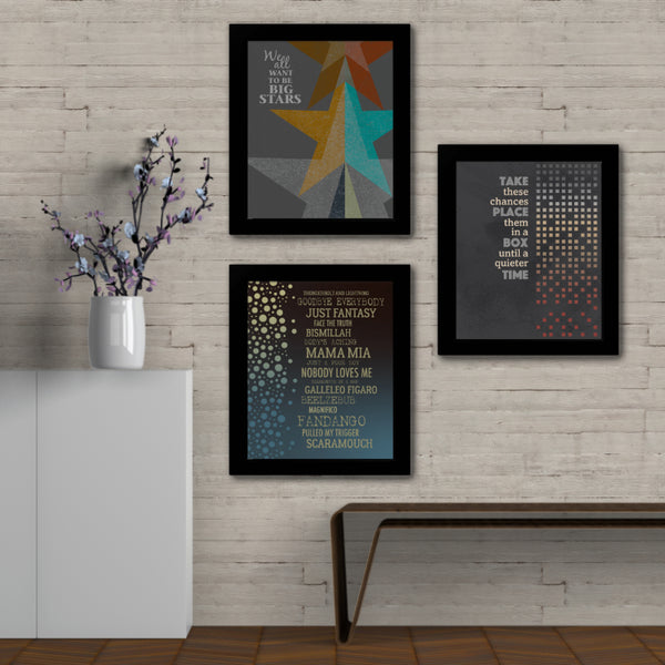 Mr. Jones by the Counting Crows - Lyrical Art Print Wall Decor Illustration