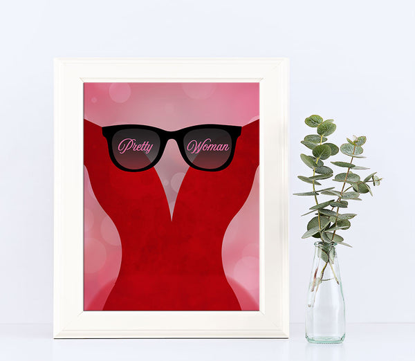 pretty woman roy orbison eddy van halen song lyrics wall art music poster artwork decor